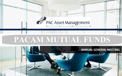 PAC Asset Management Mutual Funds Annual General Meeting. (29TH SEPT, 2021.  10AM-3PM)